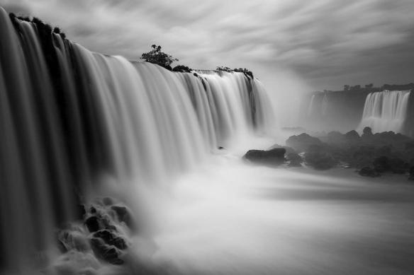 tableau paysage noir et blanc Attraction