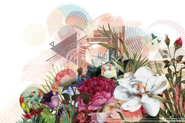 Toile Deco Fleur Moderne Et Originale Izoa