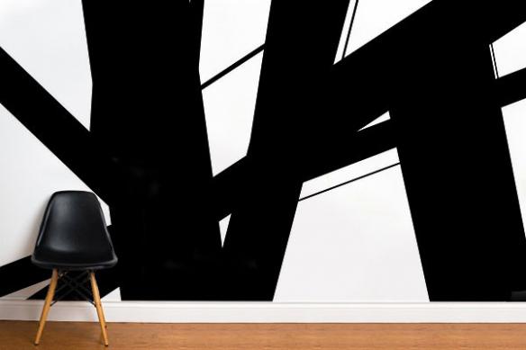 poster moderne abstrait Instable