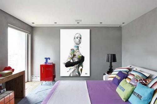 Tableau design Nude by Mathieu Gazaix