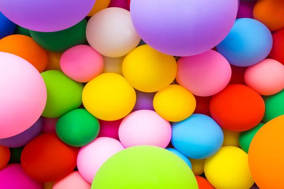 Papier peint tendance Ballons de Baudruches