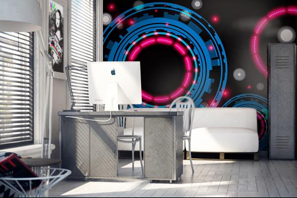 papier peint 3d design pour décoration moderne et ultra design