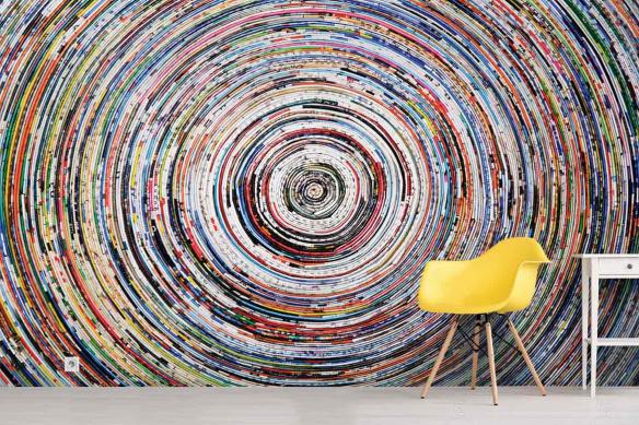 Papier peint graphique Hypnose