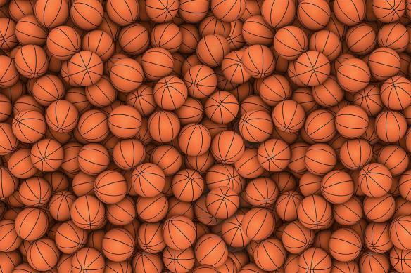 ballons basket 3d