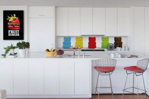 cr dence adh sive cuisine originale avec un rev tement. Black Bedroom Furniture Sets. Home Design Ideas