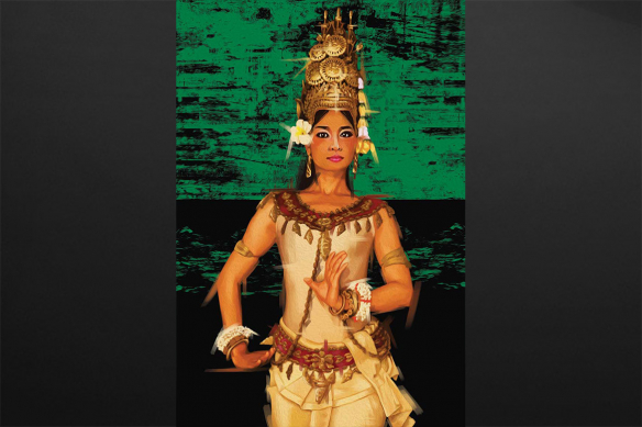 Danseuse cambodgienne Apsara