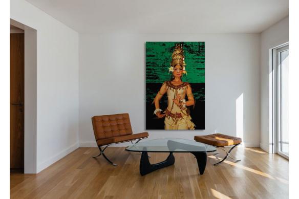 Tableau grand format Apsara