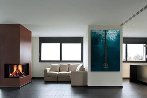impression sur toile ponton vue du ciel. Black Bedroom Furniture Sets. Home Design Ideas