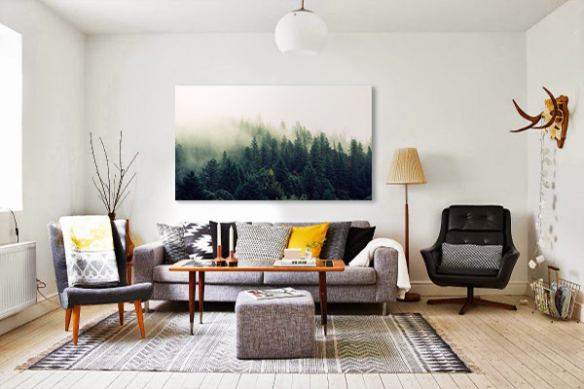 Impression décoration murale toile Dans les bois