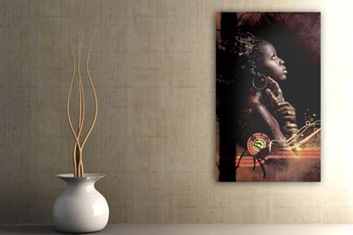 Tableau africain Tswana by Sébastien Grand
