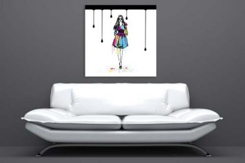 Tableau Fashion Girl
