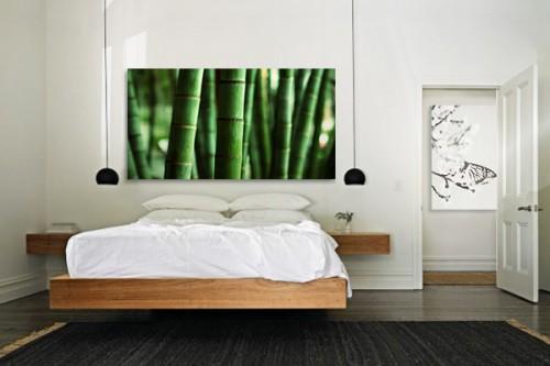 Tableau impression sur toile Mise en green