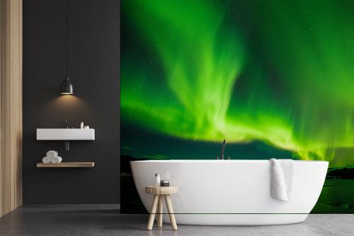 Wallpaper salle de bain Eclat de nuit