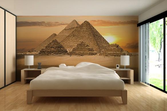 Wallpaper mural Pyramides