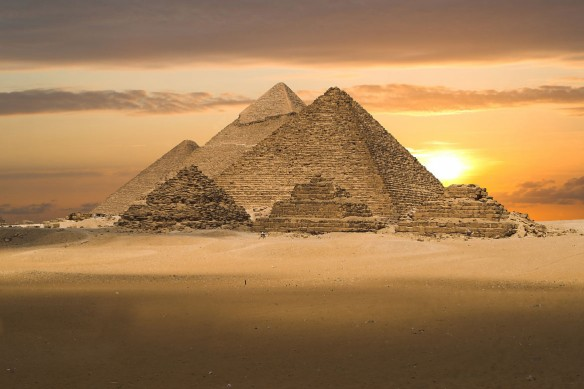 Poster mural grand format Pyramides