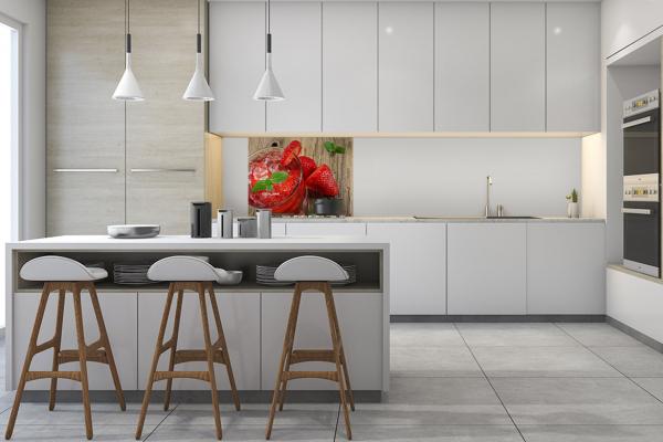 fond de hotte adh sif cuisine sirop la fraise. Black Bedroom Furniture Sets. Home Design Ideas