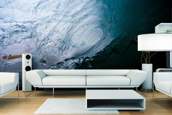 papier peint salle de bain rouleau. Black Bedroom Furniture Sets. Home Design Ideas