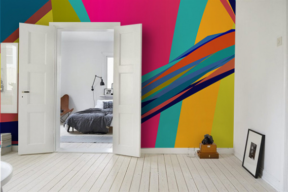 Wallpaper peinture Zephir