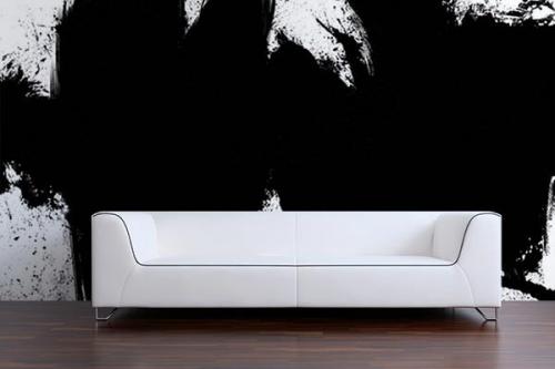 Papier peint peinture Rorschach