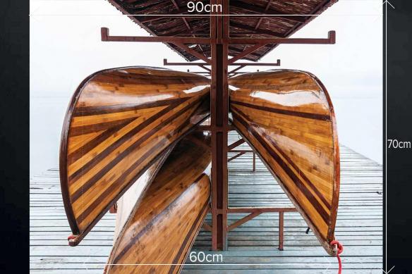 Fond de hotte cuisine mur Yachting