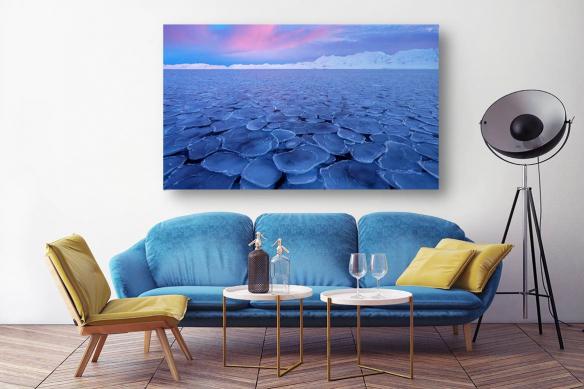 Déco murale salon Hiver Arctique