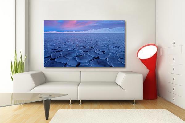 Deco Murale Salon Hiver Arctique