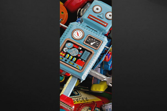 Sticker porte Nono le robot