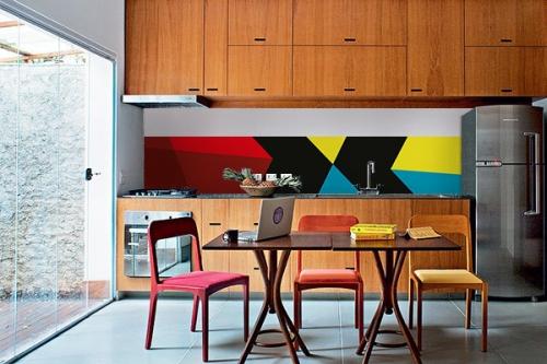 credence jaune izoa. Black Bedroom Furniture Sets. Home Design Ideas