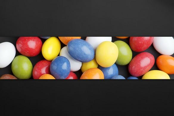 Crédence murale originale Bonbons