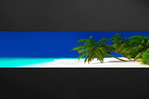Crédence décorative bleue Enfin les vacances