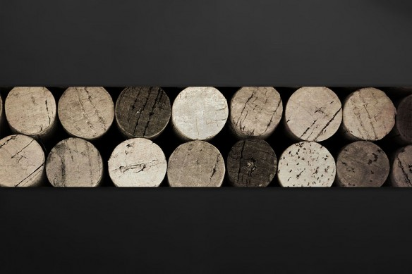 Crédence design Bouchons de vin