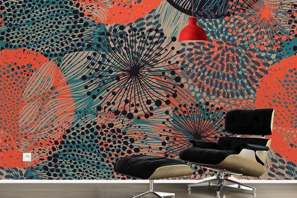 Charmant Papier Peint Design Manoto. Poster Mural Design Manoto
