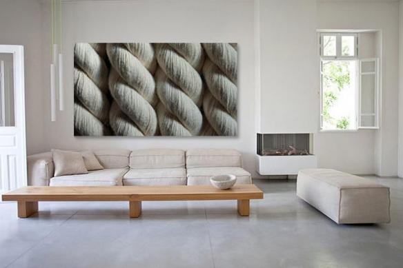 Cadre toile déco Nœuds marins