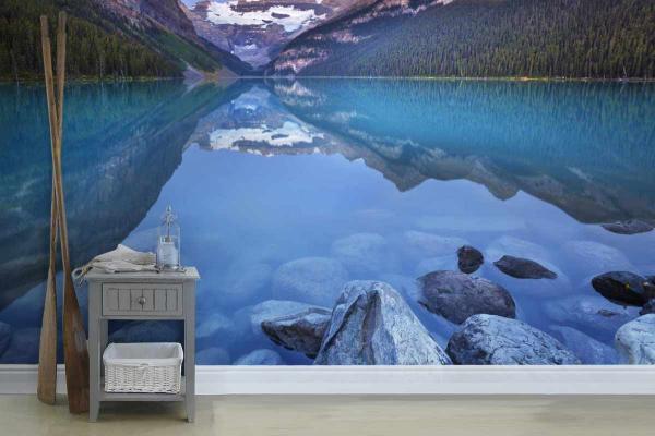 poster mural xxl intiss lac autin. Black Bedroom Furniture Sets. Home Design Ideas
