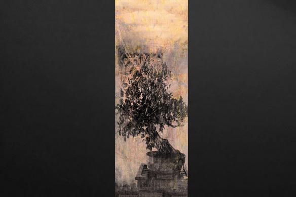 Panneau décoratif mural Bonsai