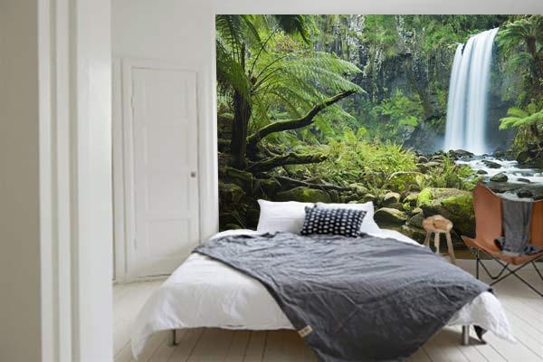 Papier Peint Jungle Tropical Cascade