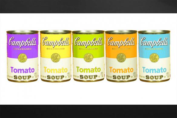 Tableau vintage Tomato soup