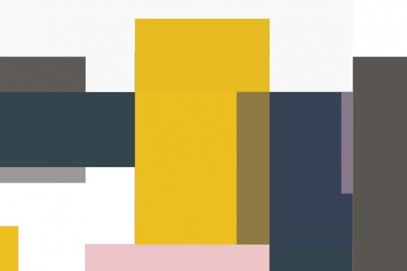 cadre-mural-motif-géométrique-blaze