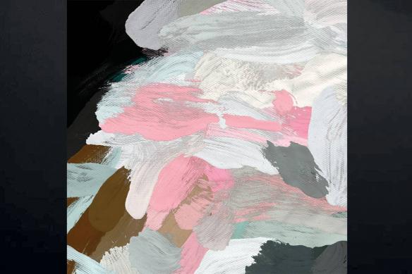 tableau scandinave motif abstrait Foehn