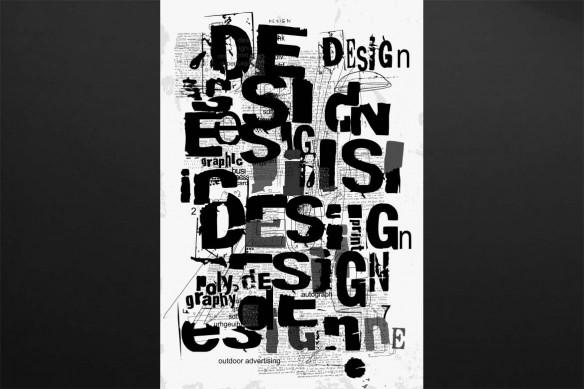cadre tableau noir et blanc design