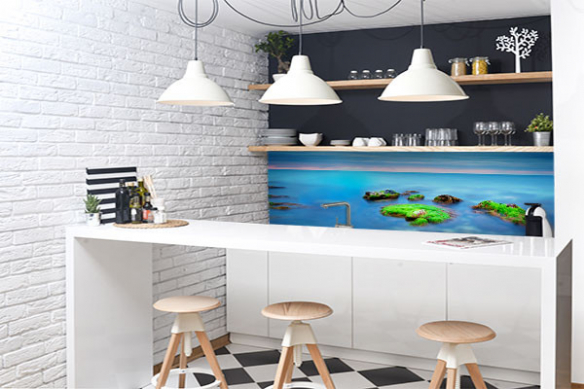 Crédence cuisine Bord de mer