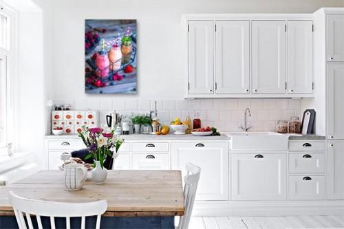 Déco murale cuisine Smoothies