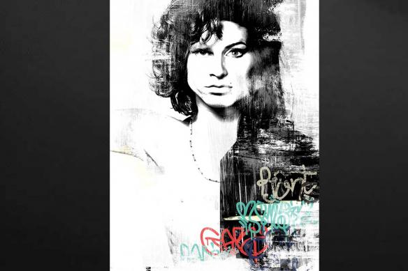 toile-originale-Amy-morrison-izoa-noir-et-blanc