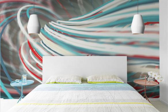 Papier peint effet 3d Gammora