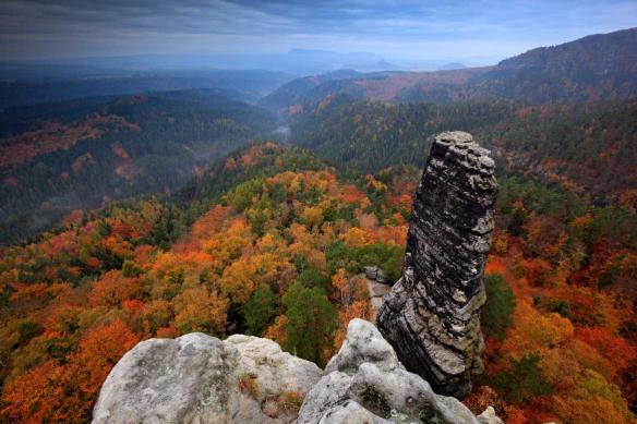 tableau sur toile montagne panorama