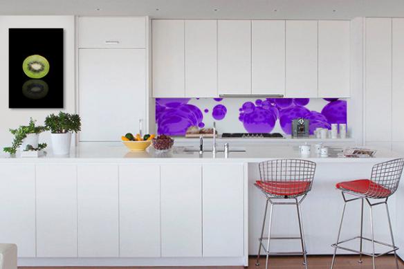 Tableau pour cuisine Kiwi design