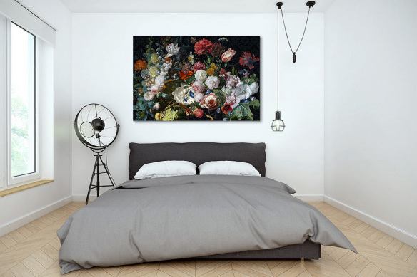 Cadre fleurs Bouquet de fleurs