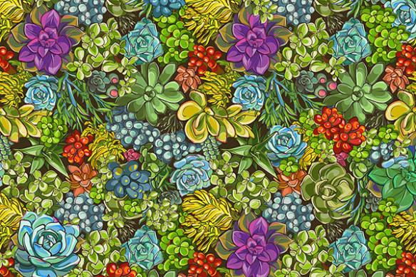 papier-peint-mur-vegetal