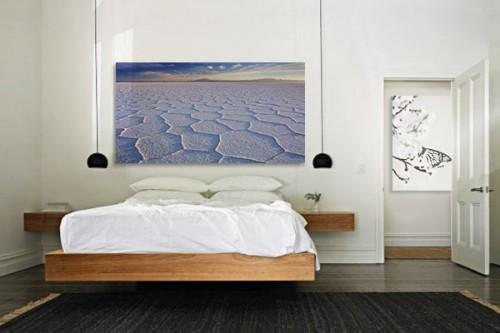 Tableau de paysage Désert de sel