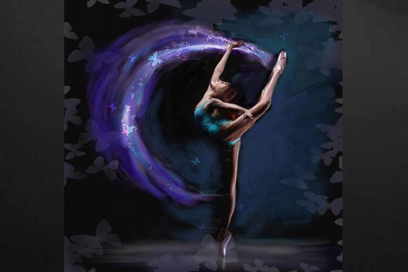 Tableau danseuse